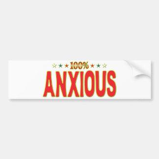 Anxious Star Tag Bumper Stickers