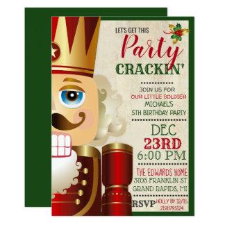 ANY AGE - Nutcracker Birthday Invitation
