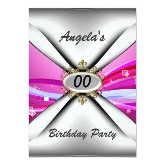 Any birthday party Invitation sixty