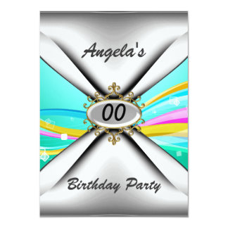 Any birthday party Invitation sixty
