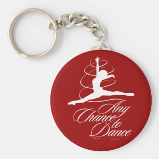 Any Chance To Dance Keychains