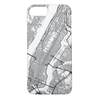 Any City Modern Map iPhone 7 Case