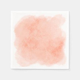 Any Color Background Watercolor Texture Disposable Serviette