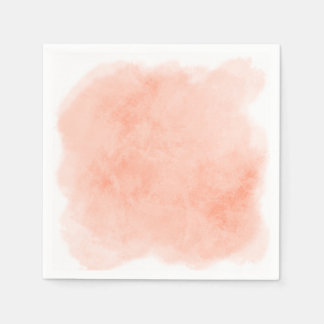 Any Color Background Watercolor Texture Paper Napkins