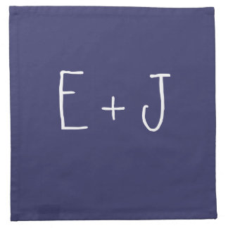 Any Color Monogramed Napkins