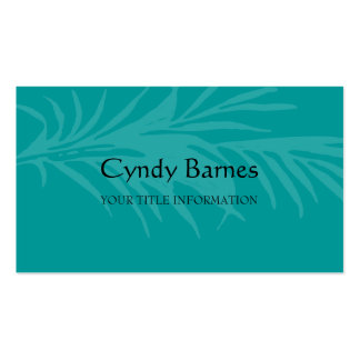Any Color Palm Leaf Business Card