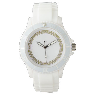 Any Color with Gold Border Design Watches