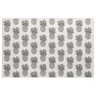 Any Custom Color Cute Iconic Pineapple Fabric