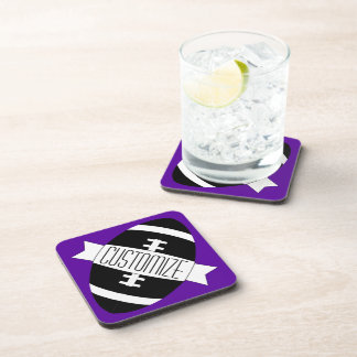 Any Custom Color Football Team Name / Text Coaster