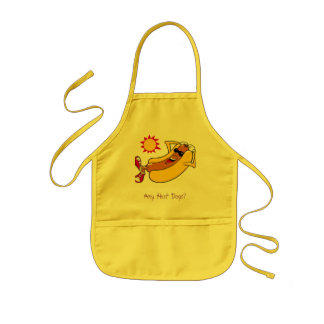 Any Hot Dogs? Kids Apron