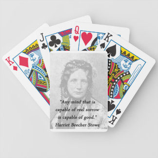 Any Mind - Harriet Beecher Stowe Bicycle Playing Cards