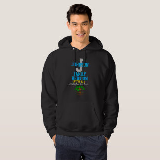 Any Name Family Reunion with Any Date - Hoodie