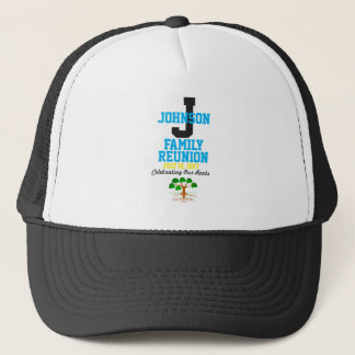 Any Name Family Reunion with Any Date - Trucker Hat