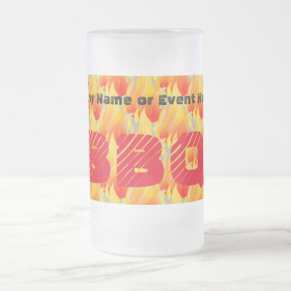 Any Name or Event BBQ - Frosted Glass Beer Mug