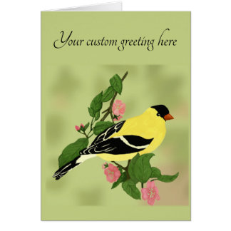 Any Occasion Goldfinch Bird Card