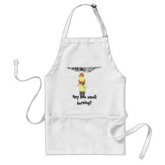 , Any one smell burning? Standard Apron