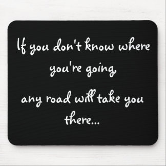 Any Road Mouse Pad