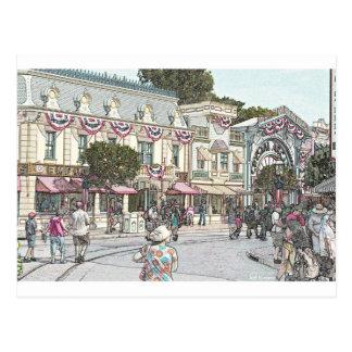 Any Town, USA Postcard