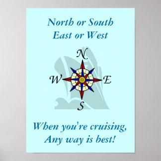 Any Way Cruising Poster