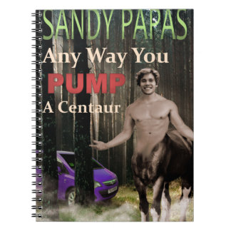 Any Way You Pump A Centaur Notebooks