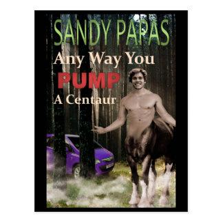 Any Way You Pump A Centaur Postcard