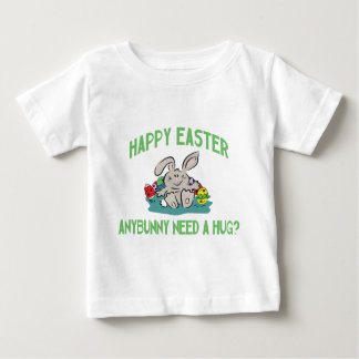 Anybunny Need A Hug Happy Easter Baby Baby T-Shirt
