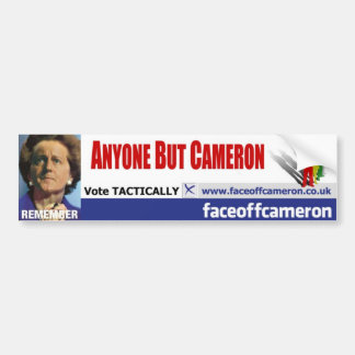 Anyone But Cameron Bumper Sticker