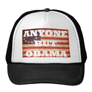 Anyone But Obama Hats