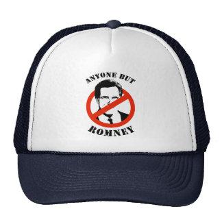 Anyone but Romney Trucker Hats