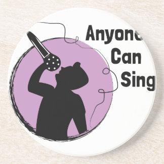 Anyone Can Sing Coaster