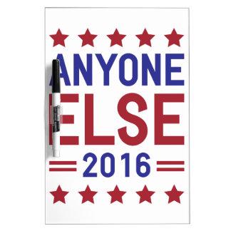 Anyone Else 2016 Dry Erase White Board