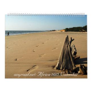 anyroad.net: My Africa 2012 Calendar