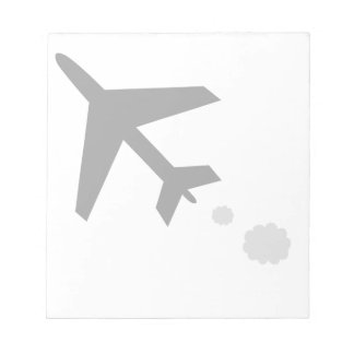 anything airplane; plane notepad