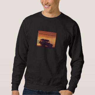 Anything better LAnd rover Sweatshirt
