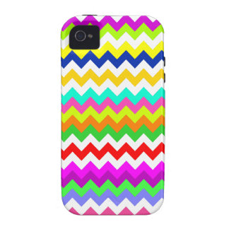 Anything But Gray Chevron Case-Mate iPhone 4 Covers