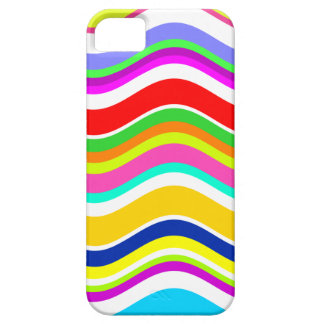 Anything But Gray With Curves iPhone 5 Cover