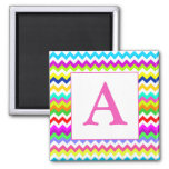 Anything But Grey Chevron Custom Initial