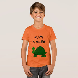 """Anything is Possible!"" Confident T-shirt for Kids"