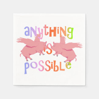 Anything is Possible Disposable Napkins