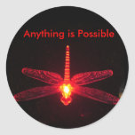 Anything is Possible Round Sticker