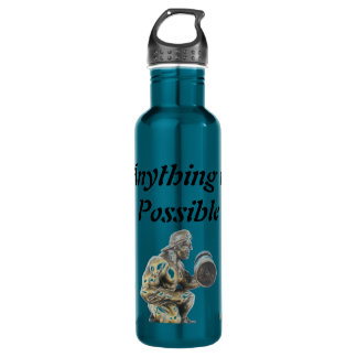 Anything of Possible Body Builder 710 Ml Water Bottle