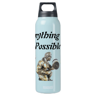 Anything of Possible Weightlifting Insulated Water Bottle