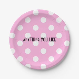 anything you like 7 inch paper plate