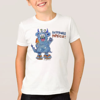 Anythings Popsicle Funny Monster T Shirt