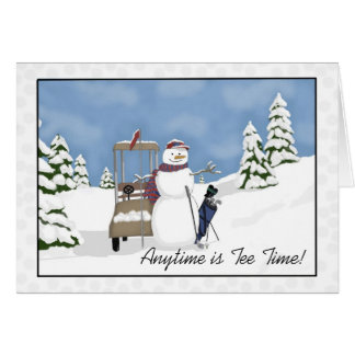 Anytime is Tee Time! by Tracey Smith Studios Card