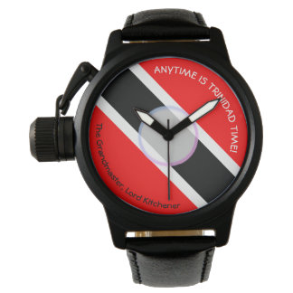Anytime Is Trinidad Time Wristwatch