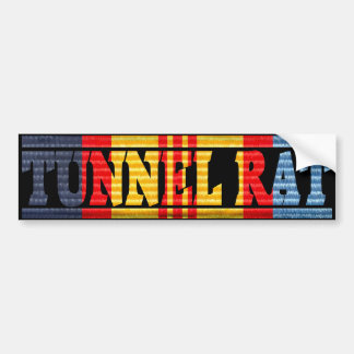 ANZAC Vietnam Medal Tunnel Rat Bumper Sticker