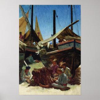 Anzio, The Port Poster