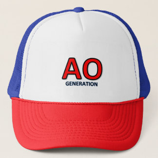 AO generation cap logo