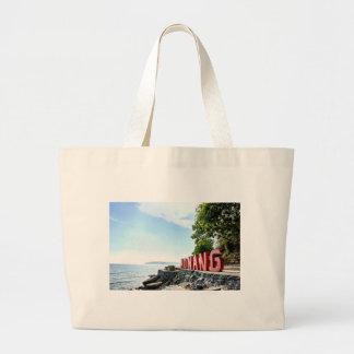 Ao Nang Sunset Beach Large Tote Bag